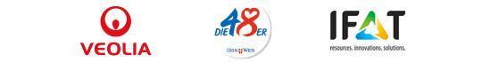 Logos of ISWA Main Sponsors